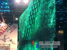 LED伸缩波浪屏价格 凹凸波浪显示屏厂家