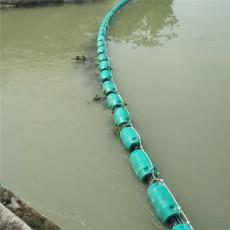 河道垃圾拦截网浮漂40公分拦漂排