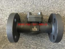 H41H-100高壓法蘭鍛鋼升降止回閥 A105