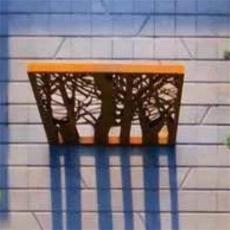 幕墙用锈钢板 景观墙用锈蚀钢板 耐候钢