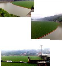 西洱河水草拦截塑料拦污浮桶工程