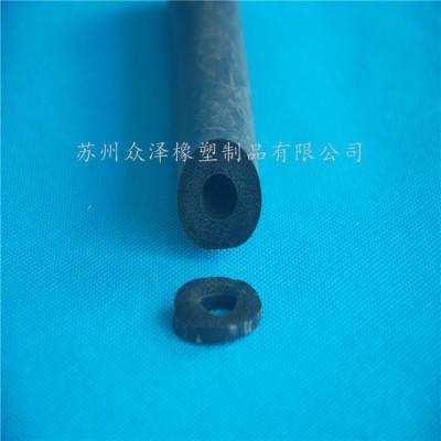 空心海绵密封条 隔音橡胶管