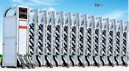北京电动门厂家8米铝材伸缩门现货供应