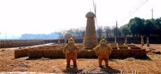 城市绿雕出售城市绿雕制作稻草人工艺品厂家