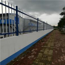 南宁锌钢护栏价格  厂房围墙围栏厂家定制