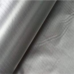 单面导电布胶带 银灰色平纹导电布 屏蔽电磁