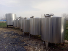 供应二手储罐 卧式储罐 不锈钢立式储罐