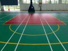 篮球场地胶 绿色环保