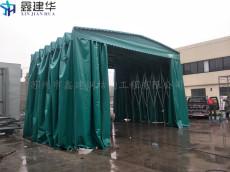 昆山大型推拉雨篷订做 户外电动伸缩蓬测量