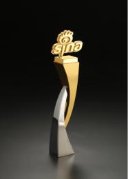 上海定做汽车品牌年会奖杯行业协会颁奖奖杯