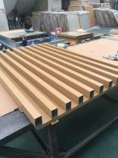 木纹铝方管 铝单板拼装组合生产 吊顶材料