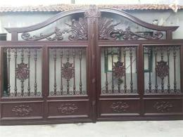 天津订做铝艺大门 别墅庭院门安装