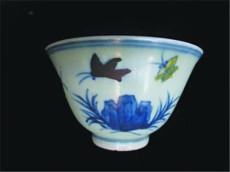 成化斗彩海水纹杯拍卖价是多少钱