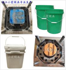 台州注射模具23L潤滑油桶塑料模具