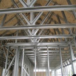 钢结构建筑厂房库房阳光棚车棚搭建