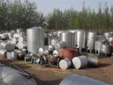长春化工设备出售不锈钢反应釜转让白钢储罐