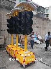 高科技太阳能移动式临时修路信号灯