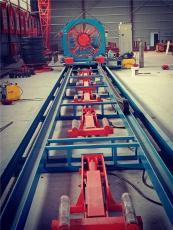 久科数控钢筋笼滚焊设备钢筋龙骨架滚焊机