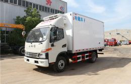 云南昆明小型蓝牌4米2冷藏保鲜车年底促销