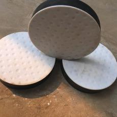 供應橋梁橡膠支座板式圓形常規尺寸有現貨