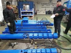 8寸10寸口径露天矿坑抽排水潜水泵卧式安装
