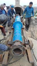 河道清淤用卧式潜水泵矿用耐磨防砂排污泵