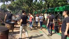 深圳农家乐一日游好玩的特色松岗野炊拓展