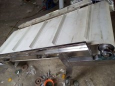 紙箱輸送用皮帶機變頻調速式 大豆輸送機