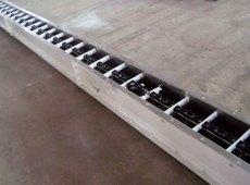 雙環鏈埋刮板機加工定制 水泥粉刮板機