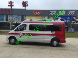 阿里地区大通新款救护车价格