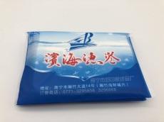 餐饮行业小批量南宁钱夹式纸巾定制
