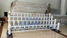 临汾蓝白色市政护栏锌钢道路护栏面包管护栏