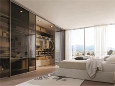 现代简约风卧室 丨整体衣柜推拉门设计