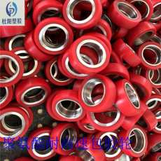 聚氨酯加工件电镀包胶轮