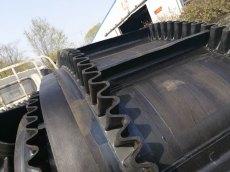 水平擋邊輸送機不銹鋼防腐 貨柜裝卸用輸送