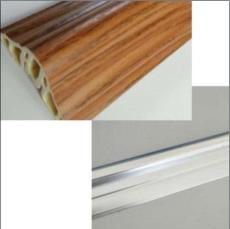 供甘肃竹木纤维装饰线条和兰州铝合金线条
