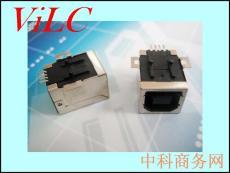 BF90度 方脚打孔贴片 平贴SMT 黑胶LCP 铁壳