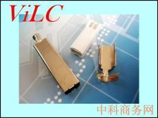 BM 三件式 白色胶芯 端子镀金3U 铁壳镀镍
