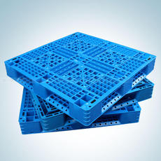 塑料托盘卡板四面进叉仓库防潮垫板卡板