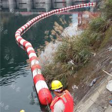 河道水面漂浮物集中拦污装置塑料拦污漂