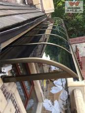 顺义定制雨棚 户外遮雨棚 铝合金雨棚