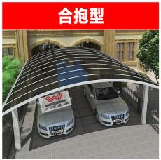 順義供應別墅停車棚鋁合金單邊車棚停車棚