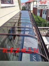 顺义供应别墅铝合金雨棚阳光板雨棚露台雨棚