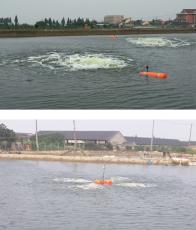 水产养殖设备浮筒增氧机浮体批发