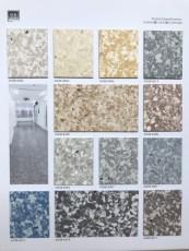 供應深圳奧格斯堡醫用同質透心卷材膠地板