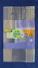 河南PE塑料手提纸巾袋 生活用纸透明服装袋