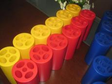 供应圆筒外形 异形内腔海棉