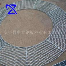 厂家定制 脱硫塔异型镀锌网格板 承重力强