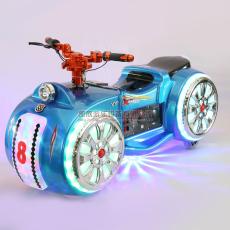兒童電動游樂摩托車廣場太子對戰車雙人親子
