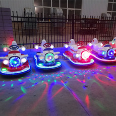 廣場親子雙人新款戰斗機碰碰車兒童電動玩具